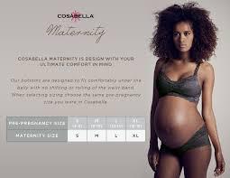 Cosabella Size Chart Maternity Size Chart
