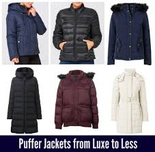 above clockwise from top left hooded padded jacket 35 from target padded jacket 35 from target millie pu leather padded jacket 89 95 on