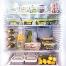 How To Organize Your Refrigerator For Healthy Eating