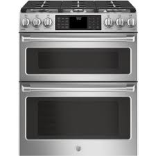 6 burner stove with double oven. Plain Burner GE Cafe 6Burner 43cu Ft  24cu Self To 6 Burner Stove With Double Oven