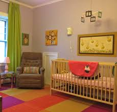 Pink And Green Walls In A Bedroom Green And Brown Elephant Baby Room The Lilayi Elephant Nursery