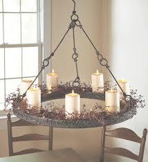 45 best ideas of outdoor candle chandelier