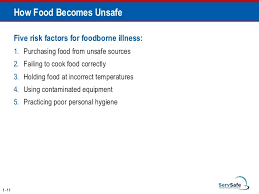 Which Storage Method May Cause Tcs Food To Become Unsafe Enchanting Servsafe Comprehensive Pptfull