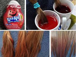 to dye hair with kool aid