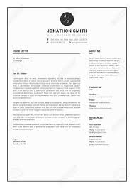 Professional Resume Cv Template With Super Modern And Professional