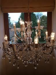 large john lewis chandelier light