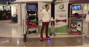 Hoverboard Display Stand Enchanting Hoverboard Salesman Injures Himself Smashing Into Own Stall While
