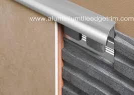 quadrant round edge stainless steel tile trim