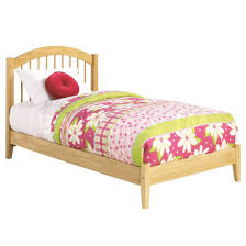 Natural Maple Bedroom Furniture Windsor Platform Bed Open Footrail Natural Maple Beds Af