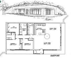 Stunning Earth Contact Home Designs Gallery  Interior Design Earth Shelter Underground Floor Plans