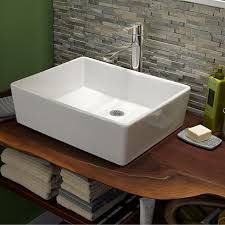 attractive bathroom ideas astounding bathroom sinks loft above counter sink less faucet hole white above