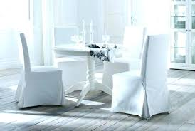 white dining room chairs chair covers in slipcover slipcovers