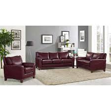 leather couches living room. Toscano 3-piece Top Grain Leather Set Couches Living Room A