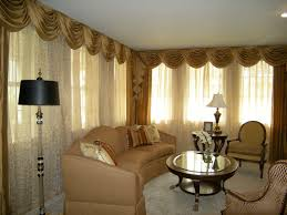 The Bay Living Room Furniture Marvelous Bay Window Decorations With Idyllic Curtains Garnish And