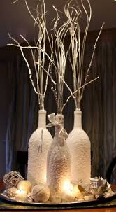 31 Beautiful Wine Bottles Centerpieces For Any Table-hometshetics (11)