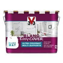 PEINTURE MULTI SUPPORTS BLANC EASY COVER MAT 5L · U203a