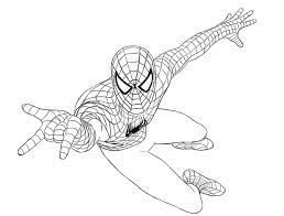 Spiderman Coloring pages | Coloring page | FREE Coloring pages for ...
