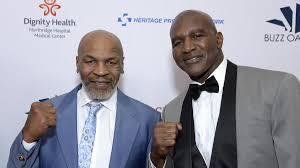 Holyfield turns 59 on oct. Ruckkampf Zwischen Mike Tyson Und Evander Holyfield 24 Jahre Nach Ohrbiss Eurosport