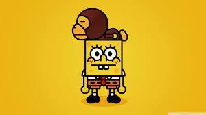 gucci x spongebob. hd quiksilver logo spongebob wallpaper gucci x o
