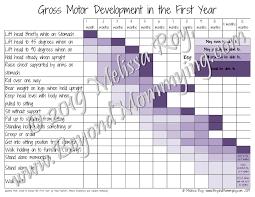 Infant Gross Motor Development Chart