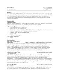Nice Example Of Network Administrator Resume For Job Vacancy