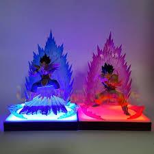 diy led lighting. Fine Lighting Dragon Ball Z Son Goku Vegeta Super Saiyan DIY Led Lamp Anime  DBZ Throughout Diy Lighting