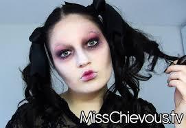 4 creepy dead doll makeup tutorial