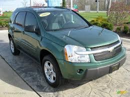 2005 Meander Green Metallic Chevrolet Equinox LT #28875229 ...