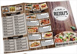 Tri Fold Menu Template 22 Tri Fold Menu Templates Free Sample Example Format