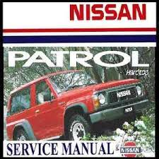 NISSAN PATROL GQ Y60 Series 1987-1994 TB42 TD42 Workshop Service ...