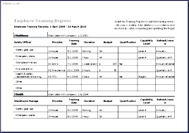 training record template employee training record template metabots co