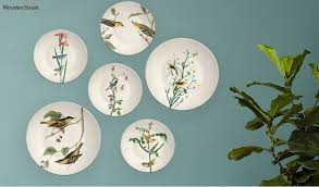 Collection by rachel carmel • last updated 4 weeks ago. Buy Indian Birds Decorative Wall Plates Set Of 6 Online In India Wooden Street