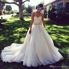 discount princess ball gown wedding dresses with crystal belt