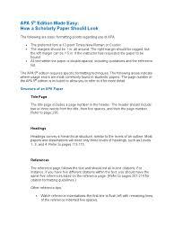 Apa 5th Edition Made Easy Citation Publishing