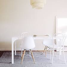 Two Ways To Use The Cb2 Aqua Virgo White Dining Table A Classic