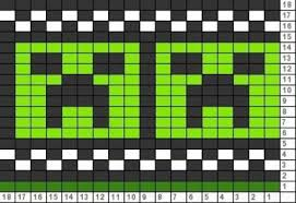 Tricksy Knitter Charts Awesome Creepers Chart Pinned From Tricksy Knitter Croche