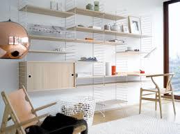 diy mid century modern shelving