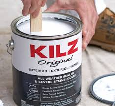 Kilz Primers Paints Wood Care Concrete Stains Over