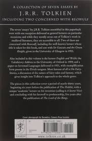tolkien essays introduction a comprehensive exam on the works and  the monsters and the critics and other essays j r r tolkien the monsters and the critics and