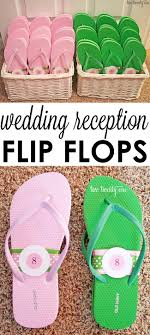 Flip Flop Bathroom Decor Wedding Reception Flip Flop Basket