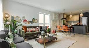 48 open concept kitchen living room