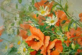 Fleurs Des Champs Marie D Oss S Peintre En Pays Basque