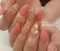 ピンクネイルが私のかわいいのポイントどのデザインがタイプ