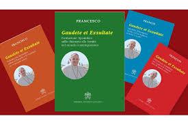 Image result for gaudete et exultate papa francisco
