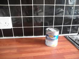 Red Tile Paint For Kitchens The Chimney Pot Before And After Kitchen Tiles
