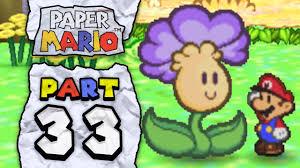 Flower Fields Paper Mario Paper Mario Part 33 Flower Field