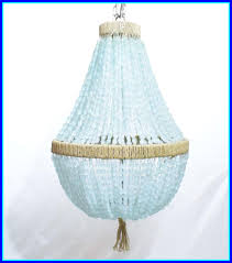 marvelous celeste sea glass empire chandelier nuggets au courant interiors pics for turquoise beaded light fixture