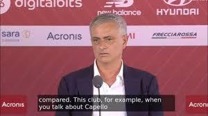 😱 Mourinho ATTACCA Conte in CONFERENZA STAMPA nella presentazione  ufficiale - YouTube