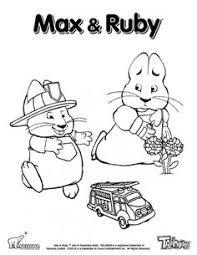 Small Picture Max And Ruby Coloring Page To Print Out Nick Jr Coloring Pages
