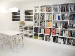 bookshelves for office. Modern Office With Wall Of Bookshelves For B
